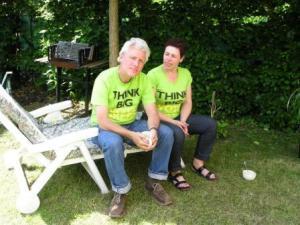 Katia Van den Broucke en Rik Jellema (foto: Astrid van Herpen)